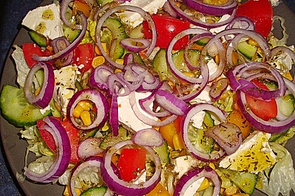 Griechischer Bauernsalat 12