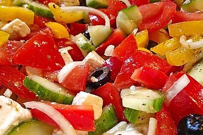 Griechischer Bauernsalat 18
