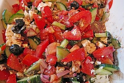 Griechischer Bauernsalat 56