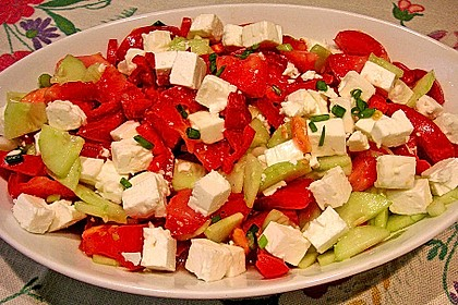Griechischer Bauernsalat 14