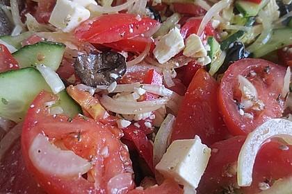 Griechischer Bauernsalat 46