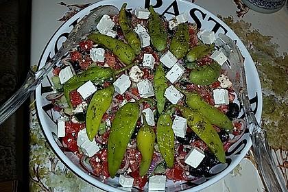 Griechischer Bauernsalat 11