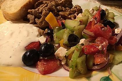 Griechischer Bauernsalat 15