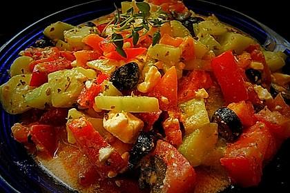 Griechischer Bauernsalat 10