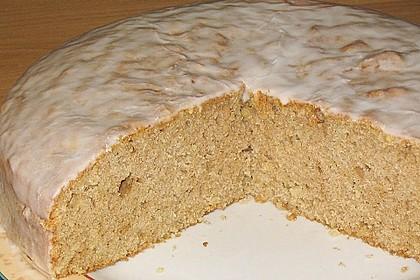 Apfel - Nuss - Kuchen