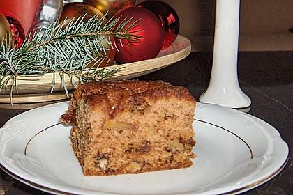 Apfel - Nuss - Kuchen 1