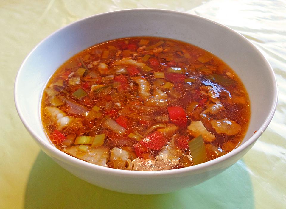 chinesische suppe pikant rezept mit bild von linda33. Black Bedroom Furniture Sets. Home Design Ideas