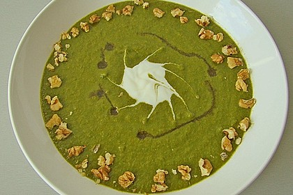 Grünkohl - Cremesüppchen 2