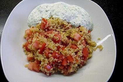 Bulgur - Pilaw mit Joghurt 4