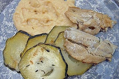 Fisch mit Zucchinischuppen 2