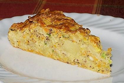 Möhren - Zucchini - Apfel - Kuchen 4