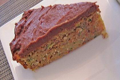 Möhren - Zucchini - Apfel - Kuchen 16