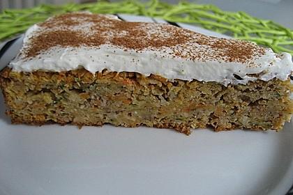 Möhren - Zucchini - Apfel - Kuchen 2