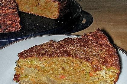 Möhren - Zucchini - Apfel - Kuchen 10
