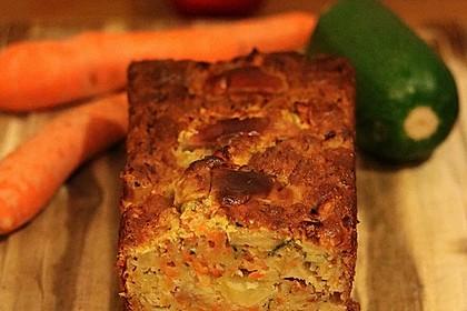 Möhren - Zucchini - Apfel - Kuchen 20