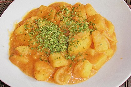 Ungarisches Kartoffelgulasch