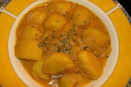 Ungarisches Kartoffelgulasch 1