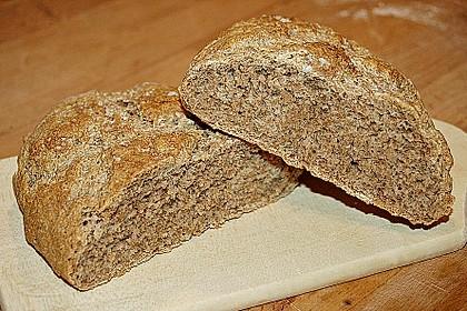 Knoblauch - Salbei Brot 3