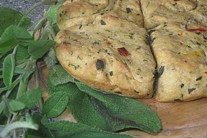 Knoblauch - Salbei Brot 0
