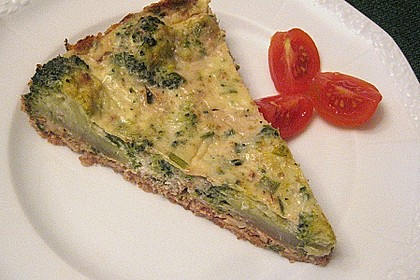 Brokkoli - Walnuss Quiche