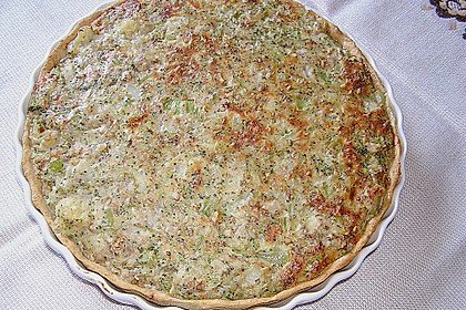 Brokkoli - Walnuss Quiche 2