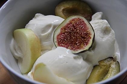Cremiges Joghurteis 12