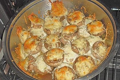 Gefüllte Champignons (vegetarisch) 39