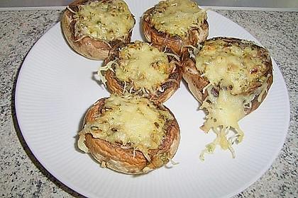 Gefüllte Champignons (vegetarisch) 23