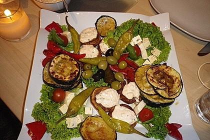 Gefüllte Champignons (vegetarisch) 5