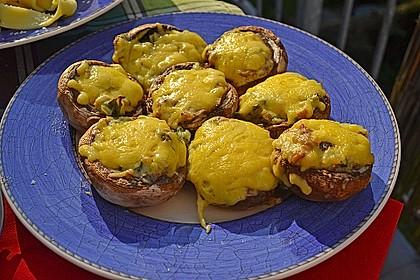 Gefüllte Champignons (vegetarisch) 15