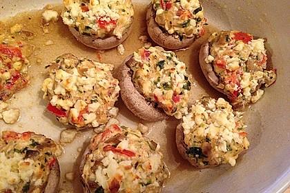Gefüllte Champignons (vegetarisch) 13