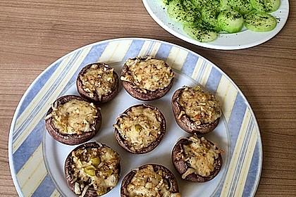 Gefüllte Champignons (vegetarisch) 8