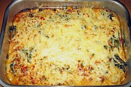 Superschnelle Spinat - Hack Lasagne 1