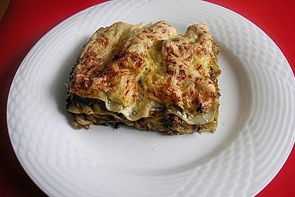 Superschnelle Spinat - Hack Lasagne