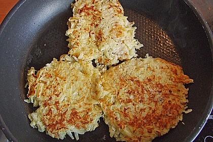 Kartoffelpuffer / Reibekuchen / Reibedatschi 7