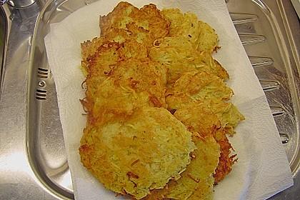 Kartoffelpuffer / Reibekuchen / Reibedatschi 16
