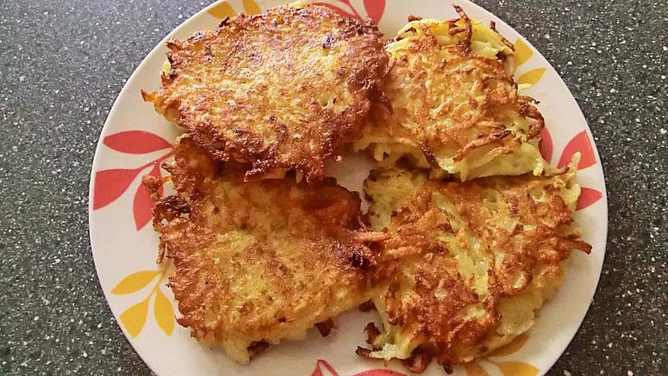 Rezept kartoffelpuffer lauch