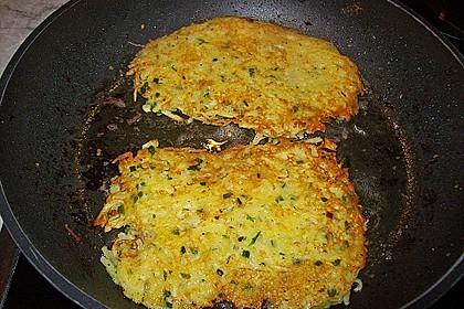 Kartoffelpuffer / Reibekuchen / Reibedatschi 8
