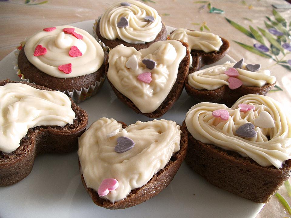 schoko muffins mit wei er schokolade von dapinkpanter. Black Bedroom Furniture Sets. Home Design Ideas