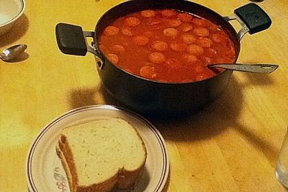 Serbische Bohnensuppe 22