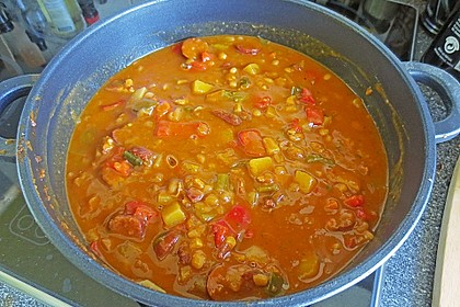 Serbische Bohnensuppe 15