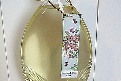 Erfrischender Holunderblütenlikör 8