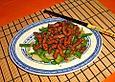 Schweinefleisch in Karamellsauce