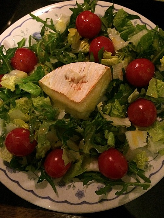 Honig Senf Sauce Salat : gebackener camembert an honig senf sauce mit rucola ~ Watch28wear.com Haus und Dekorationen