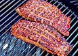 Flank Steak vom Kobe Rind mit buntem Salat