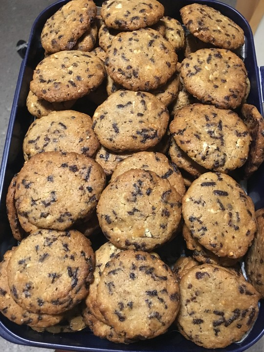 american soft chocolate chip cookies von trixieernie. Black Bedroom Furniture Sets. Home Design Ideas