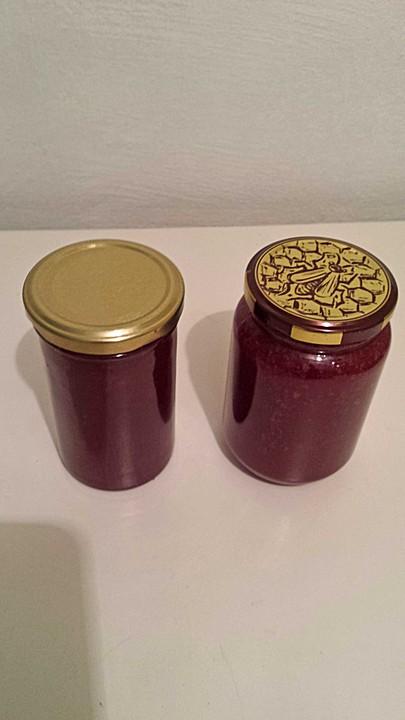 aronia mirabellen marmelade rezept mit bild von chinty. Black Bedroom Furniture Sets. Home Design Ideas