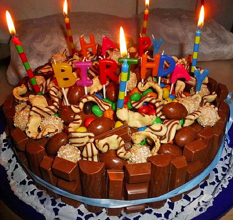 Außergewöhnlich Candy Cake - ein amerikanischer Kuchen mit Süßigkeiten von #IH_34