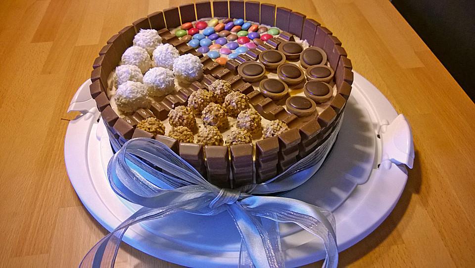 Candy cake ein amerikanischer kuchen mit s igkeiten - Amerikanische ka chen ...