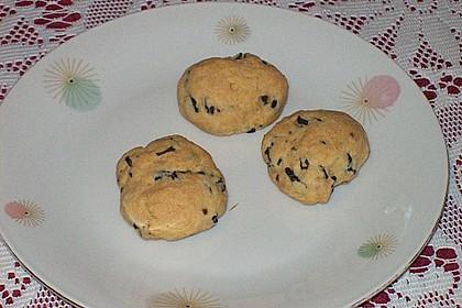 Cookies aux olives noires 2